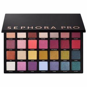 Sephora Pro Pigment Palette Editorial 2.0